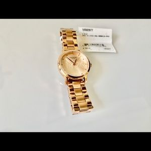 COACH Women's Rose Gold-Tone Stainless Steel Watch